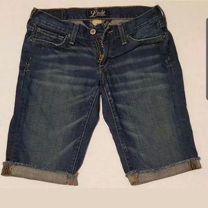 Lucky Brand Zoe Bermuda Shorts